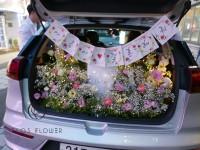 [부산당일꽃배달]트렁크프로포즈 안개계절꽃 SUV차량+…